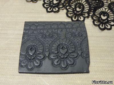 Кружево из полимерной глины