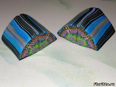 полимерная глина калейдоскоп мастер класс