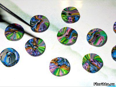 полимерная глина калейдоскоп
